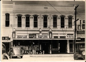Homuth building during the 1950's.
