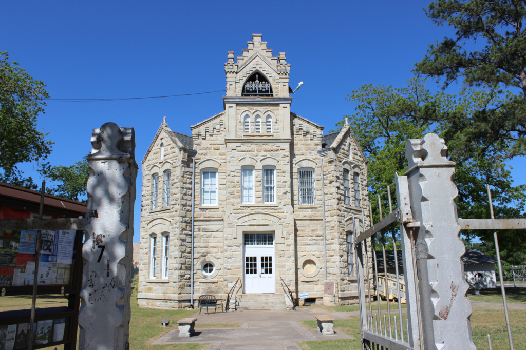 La Grange's Old Jail, now the home of the Visitor Bureau.