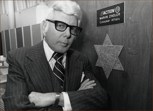 Marvin Zindler, an investigative reporter from Houston, Courtesy of Special Collections, University of Houston Libraries.
